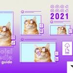 Guide des dimensions visuelles des médias sociaux 2020.